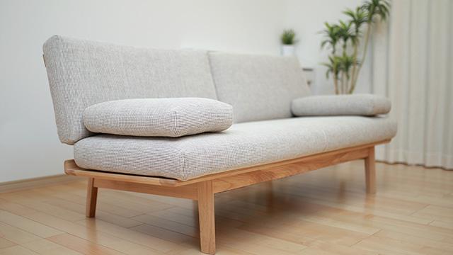 布張りソファーの汚れを落とす掃除方法